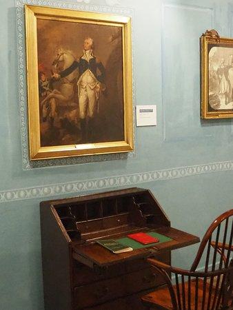 Part of the George Washington exhibition