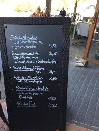 Erkner, เยอรมนี: Nachtisch