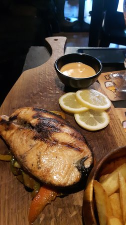Meat & Co: gegrillter Lachs