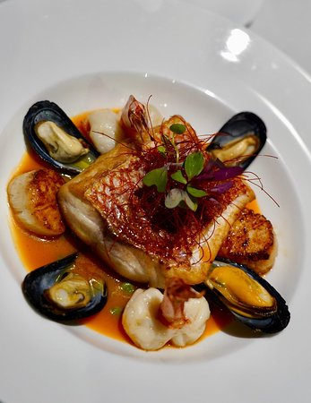 Pan seared local snapper special!