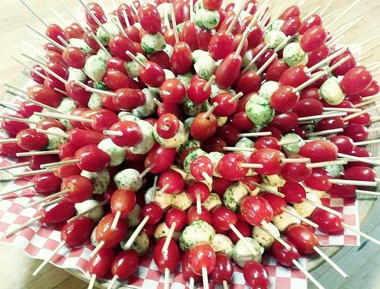 Assiette tomates et bocconcini