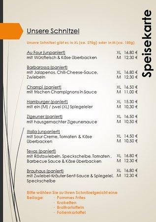 Lohmen, Germania: Schnitzel