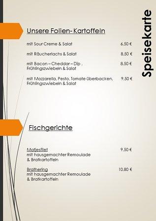 Lohmen, Germania: Kartoffeln & Fisch