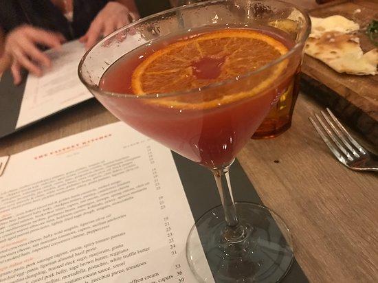 blood orange martini- YUM