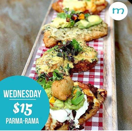 Parma-Rama night every Wednesday at Monsoons!