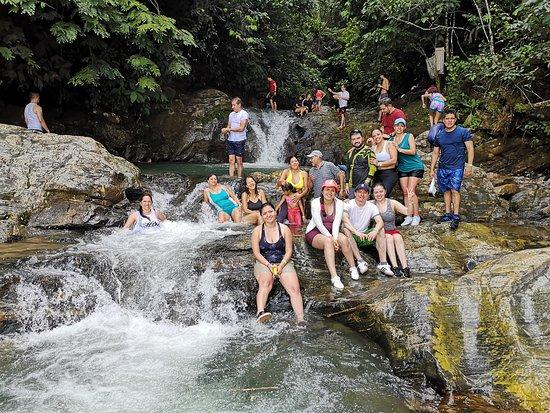 El Doncello, Colombia: Cascadas de Anayacito