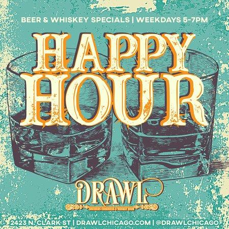 Drawl Happy Hour