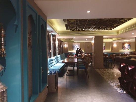 Turkey Central: Dining area