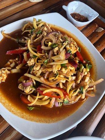 Khuk Khak, Tajlandia: Bannana Blossum Salad