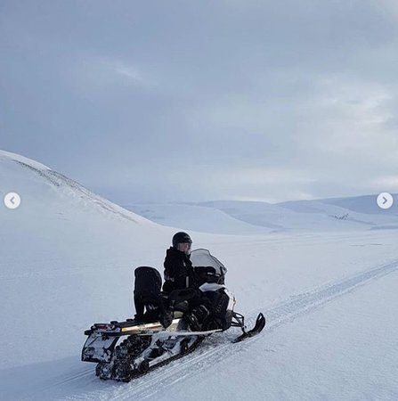 Snow mobile trip - best adventure ever