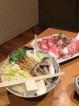 Shinsaibashi Amanoi: ชุดหมูสำหรับ2ท่าน