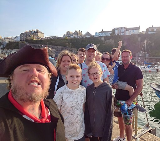Newquay Smugglers Walk & Boat Tour