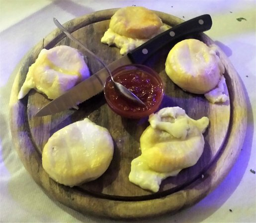 Peccati di Gola: La Borberina della Val Borbera cotta alla piastra con peperoni dolci.