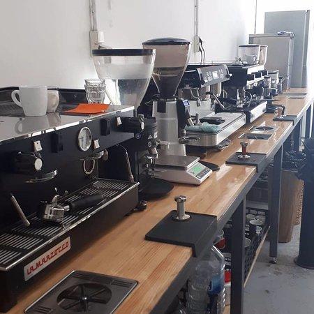 Animal Coffee: Maquinas de espresso para cursos en el laboratorio