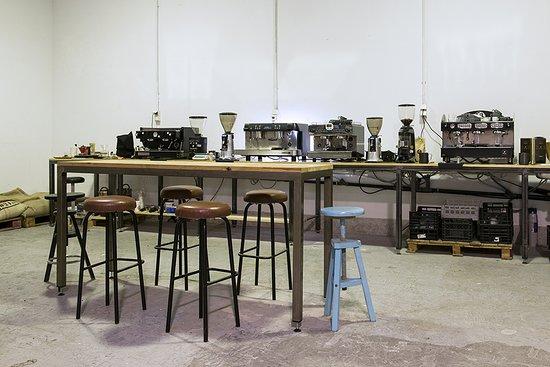Animal Coffee: laboratorio para cursos de barista y latte art