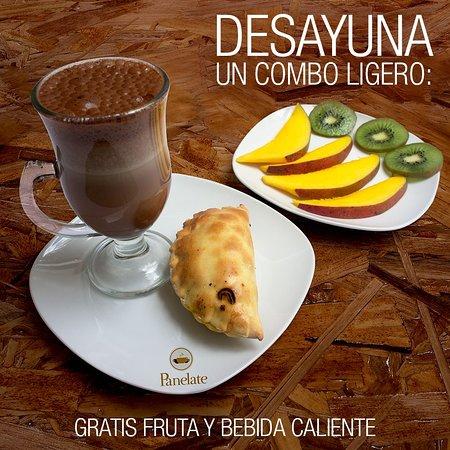 Panelate: ¡Bienvenidos los que madrugan! Promociones especiales en desayunos antes de 8am a 10am. Aplican TyC