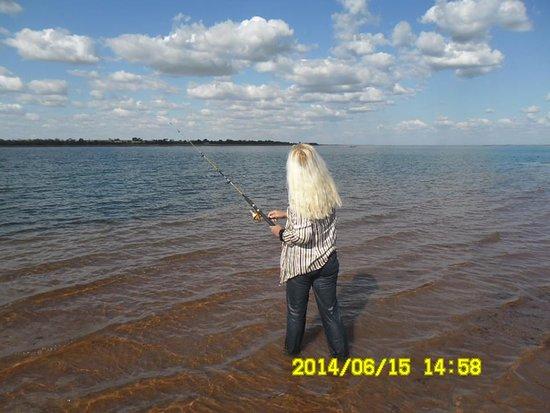 Rio Tietê, em Pereira Barreto ele vive é lindo ! Pescar e fazer o peixe no mesmo dia não tem preço, obrigada Senhor ! Que privilégio !