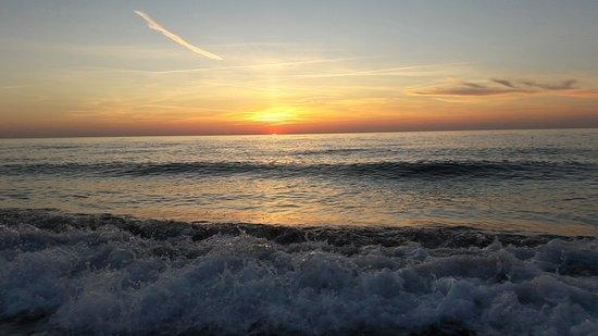 Plaża 200 - 300 metrów od Pensjonatu Landrynka