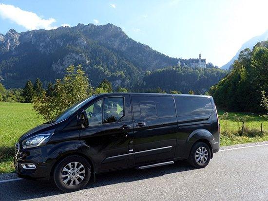Schloss Neuschwanstein: Hoch oben