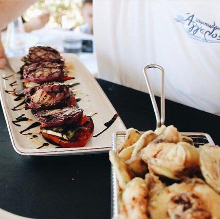 Seafood Tavern Aggelos: Grilled vegetables