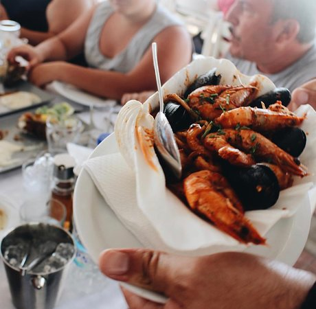 Seafood Tavern Aggelos: Seafood spaghetti