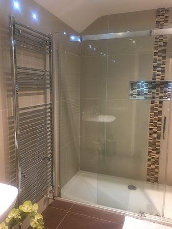 Deerview Lodge: on-suite shower