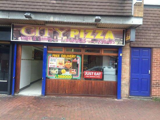 City Pizza Nuneaton Menu Prices Restaurant Reviews