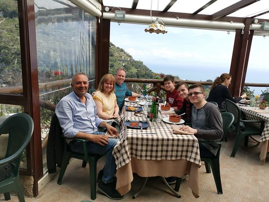 Pompeii and the Amalfi Caost: Lunch with Adolfo