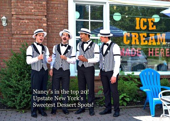 Nancy's of Woodstock Artisanal Creamery: Singing Nancy's praises