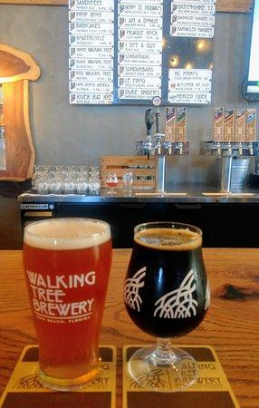 Walking Tree Brewery: Beer!