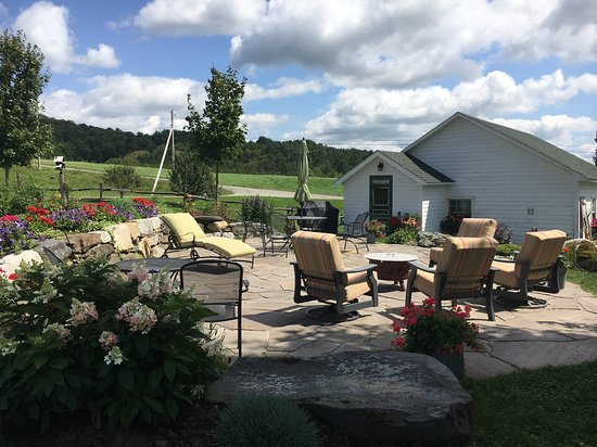 Danville, VT: Relax on the Patio
