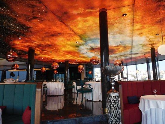 le restaurant La Cupula