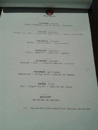 Bentomania Honten: menu de printemps