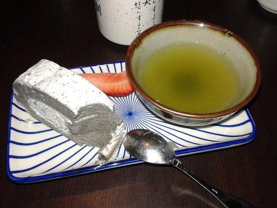 Bentomania Honten: le dessert et son thé matcha