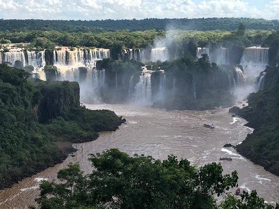 Iguazu Falls Admission Ticket: Brazilian Side: Foz do Iguaçu vista da trilha de acesso.