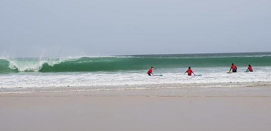De très belles vagues