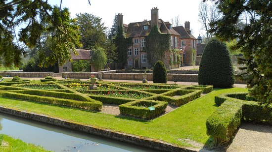 House and formal garden