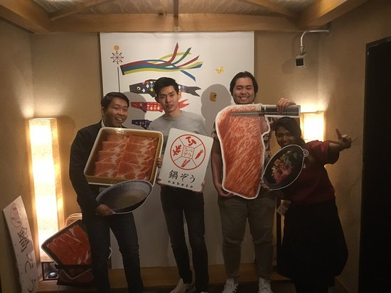 Nabezo Shinjuku 3 Chome : Thank you for coming today;) please visit us again.