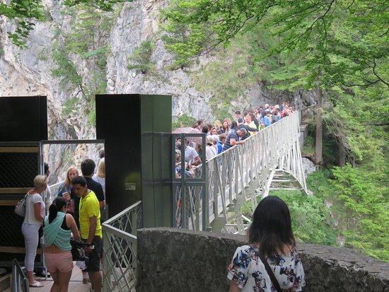 Schloss Neuschwanstein: マリエン橋