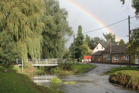 The Village Inn: Bridge and ford