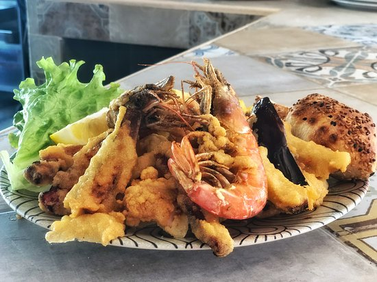 Our Mix Fried Seafood
