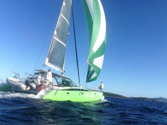 Tartaruga Beach: Vamos velejar!!