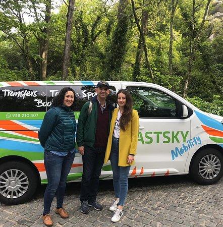 FASTSKY Mobility: Touring@Pena Palace