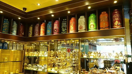 TWG Tea Boutique at Changi T3