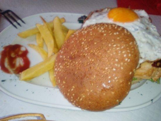 Cobena, Spain: Hamburguesa