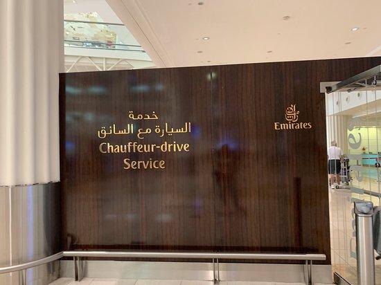 Emirates: Chauffeur Service