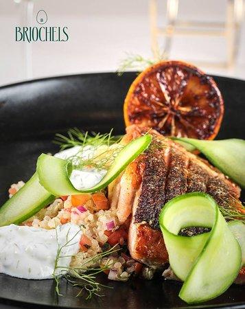 Briochels: Salmon & Quinoa