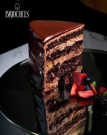 Briochels: Seven Layer Chocolate Cake