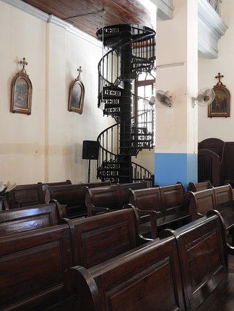 The  slpiral staircase