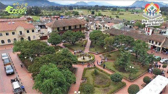 Parque principal de Cogua